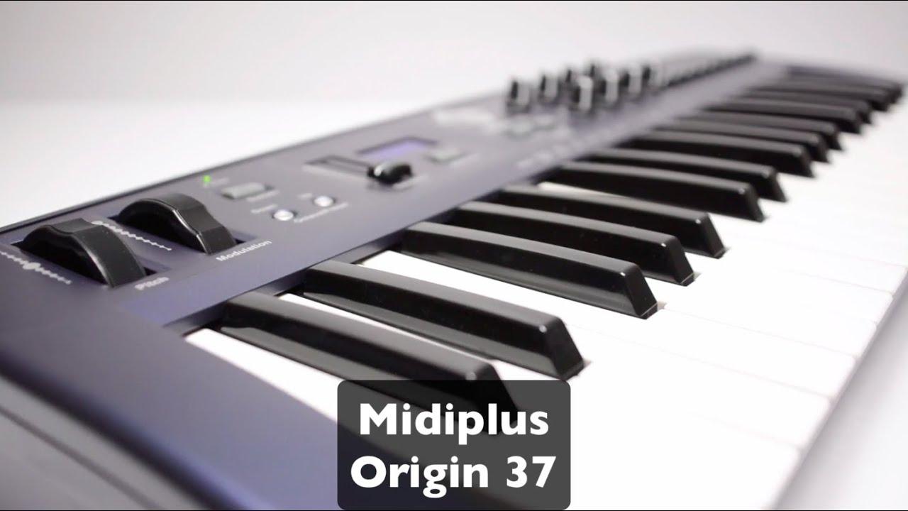 """MIDIPLUS- ORIGIN 37- test w """"ESTRADA I STUDIO"""""""