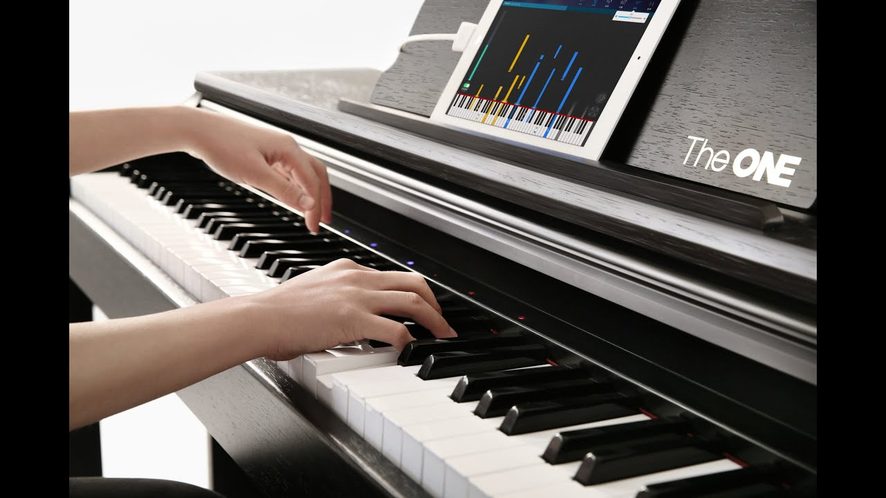THE ONE SMART PIANO PRO- test video