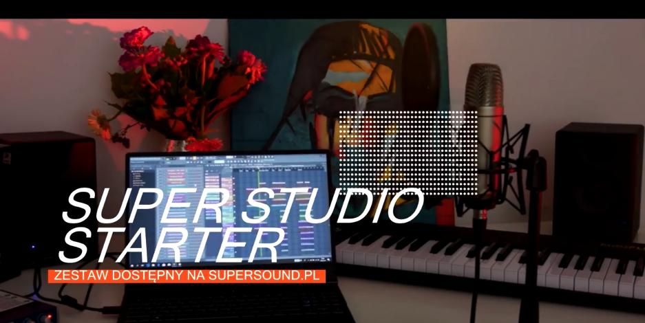 MIDIPLUS i FL STUDIO w zestawie SUPER STUDIO STARTER (domowe studio do 2500 zł)