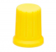 DJ TECHTOOLS- Chroma Caps Encoder Thin- żółty