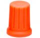 DJ TECHTOOLS- Chroma Caps Encoder Thin- pomarańczowy