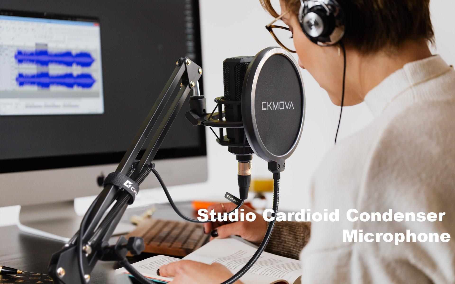 Studyjny mikrofon pojemnościowy- CK MOVA SXM-3