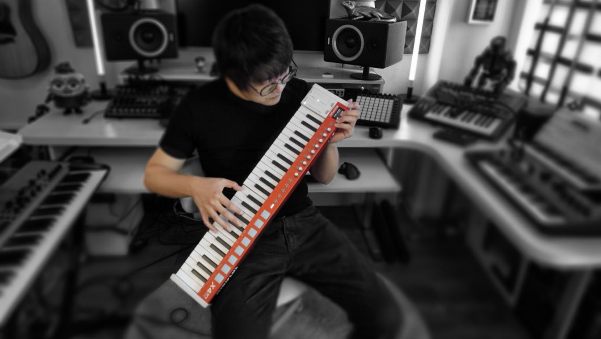 MIDIPLUS: Premiera seri X PRO MINI (X4 pro mini, X6 pro mini)