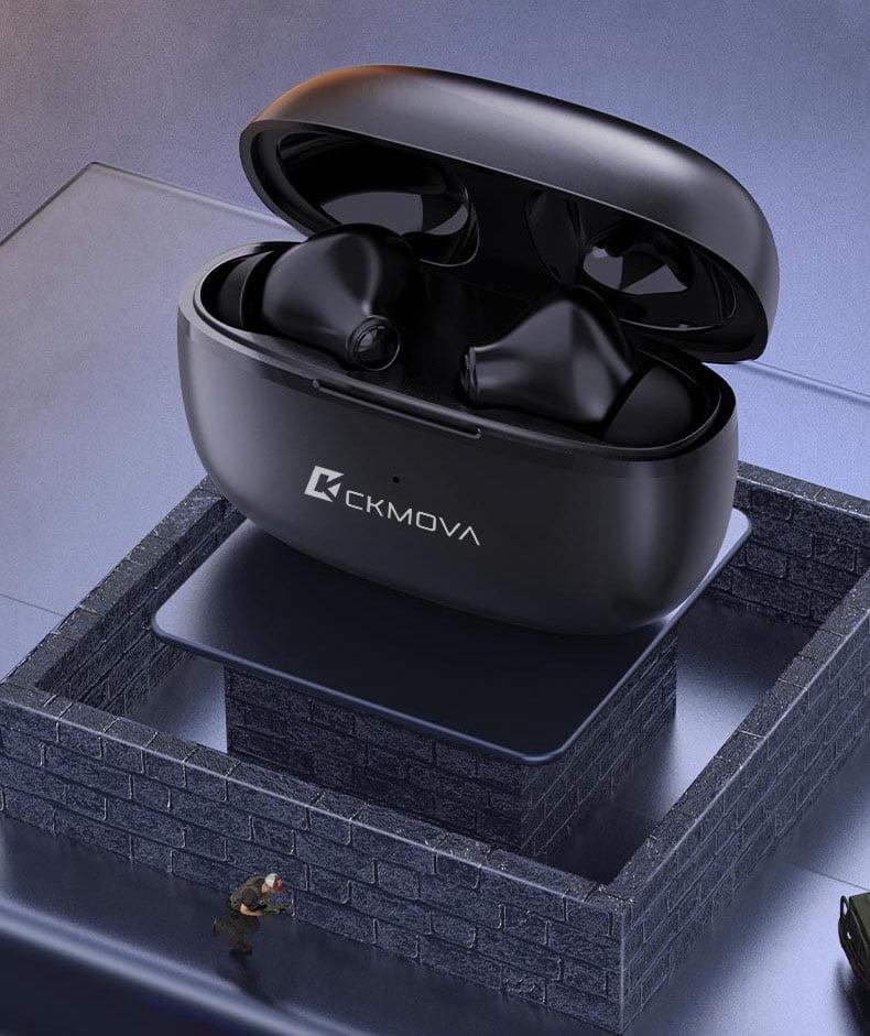 Douszne słuchawki bezprzewodowe od CK MOVA
