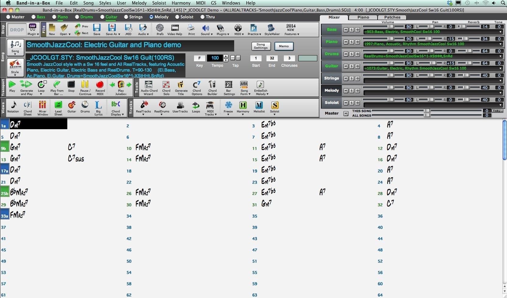 Poradnik: BAND IN A BOX- wprowadzanie akordów (cz.4)