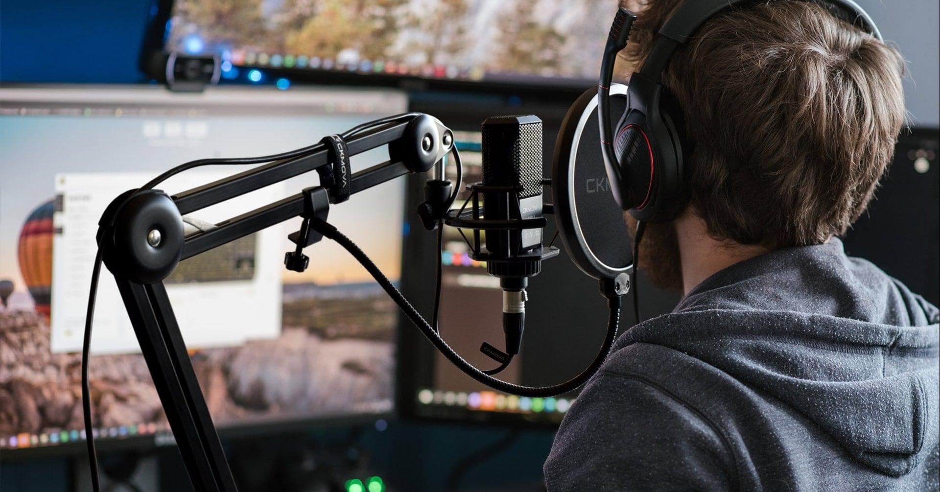 TEST: ramię mikrofonowe CKMOVA SAS-2