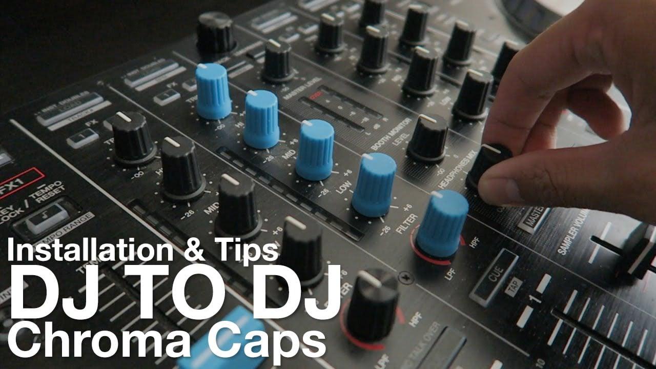 DJ Techtools Chroma Caps- nakładki na potencjometry