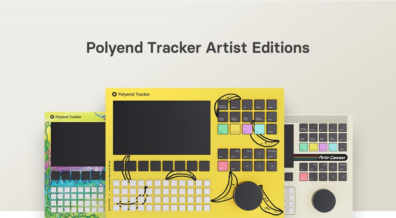 Polyend Tracker Artist Editions-  więcej niż widać na pierwszy rzut oka