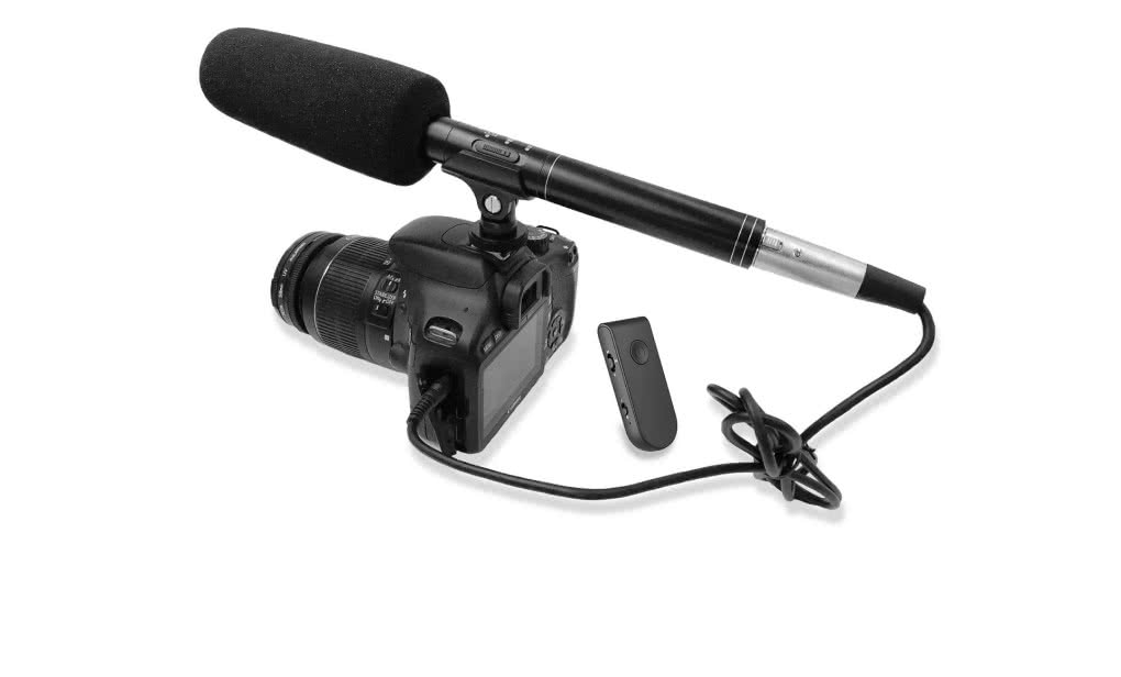 Ampridge MightyMic C+Pro - mikrofonowy system reporterski