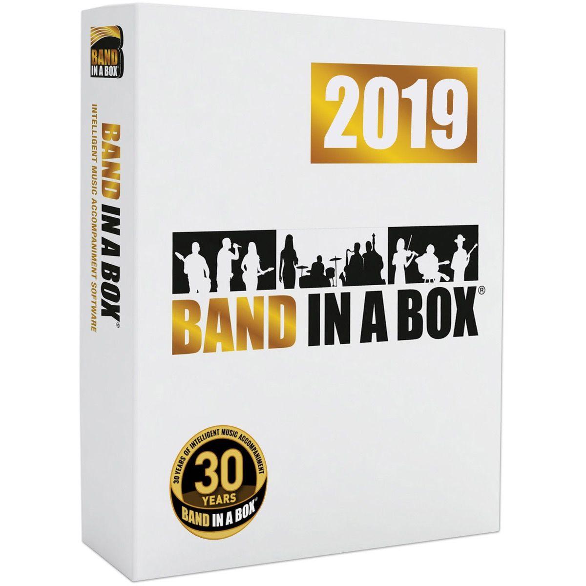BAND IN A BOX- DARMOWY UPGRADE DO WERSJI 2020 dla WIN