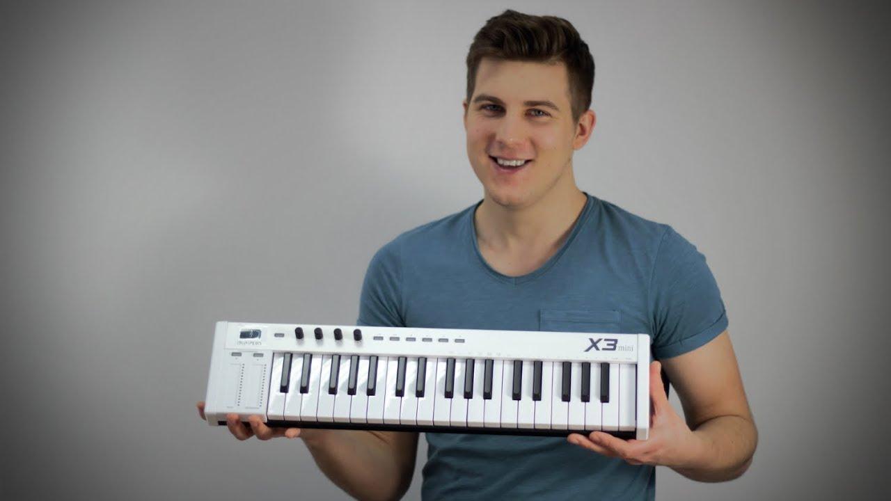 Klawiatura MIDI USB  MIDIPLUS X3 MINI- unboxing