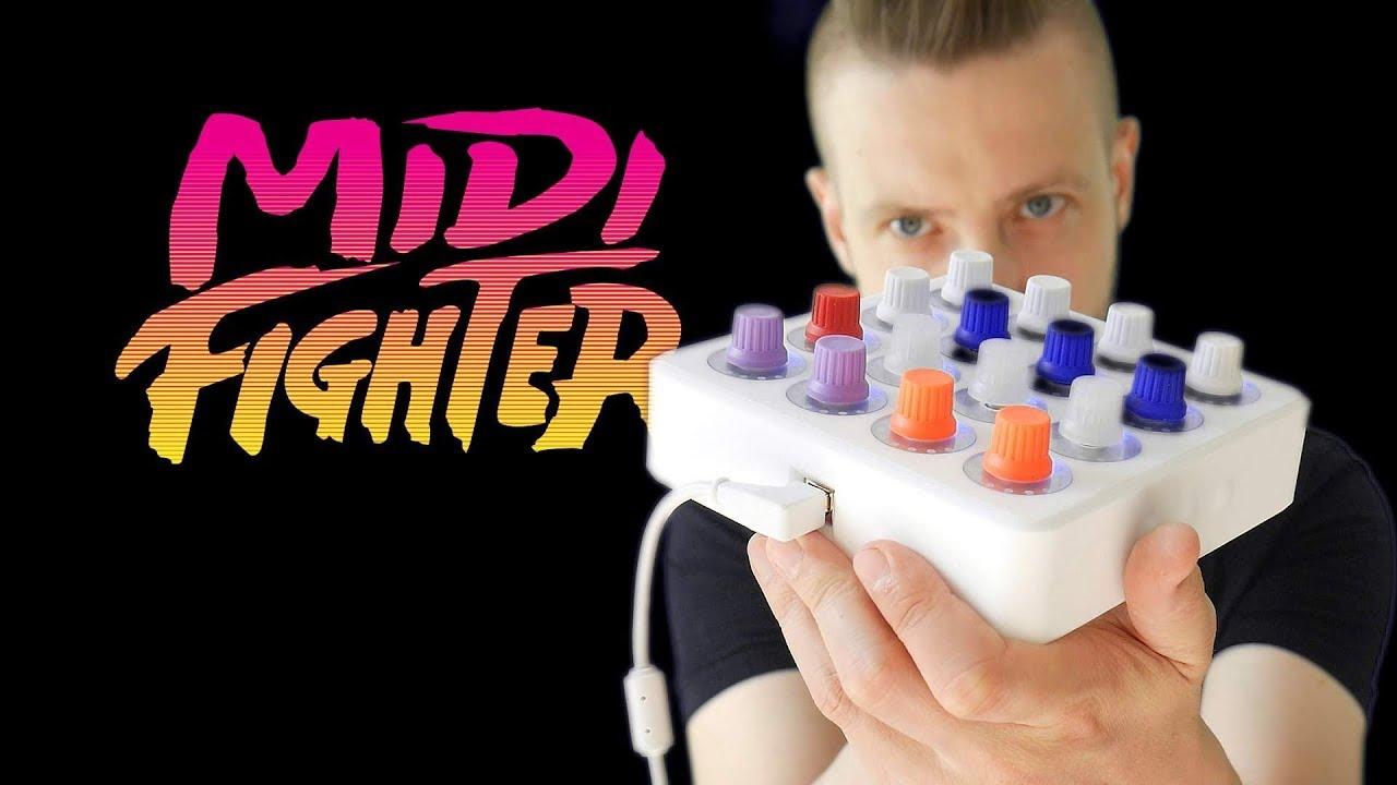 MIDI FIGHTER TWISTER-  PEZENTACJA WIDEO