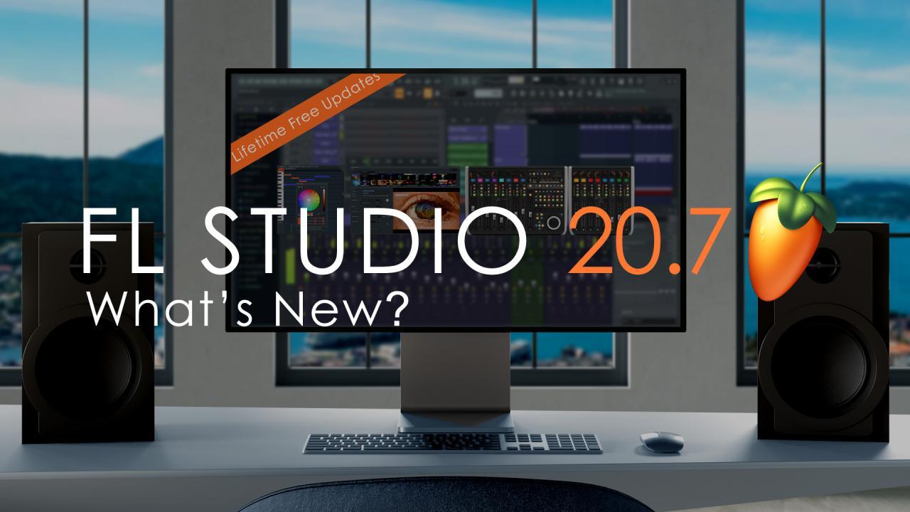 FL STUDIO 20.7.2 - Zobacz co nowego