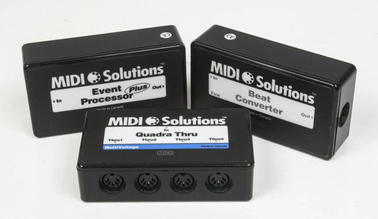 MIDI SOLUTIONS- recenzja