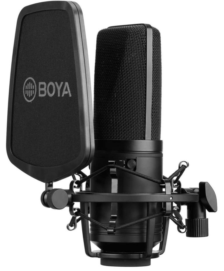 Test BOYA BY-M1000 w Estrada i studio!