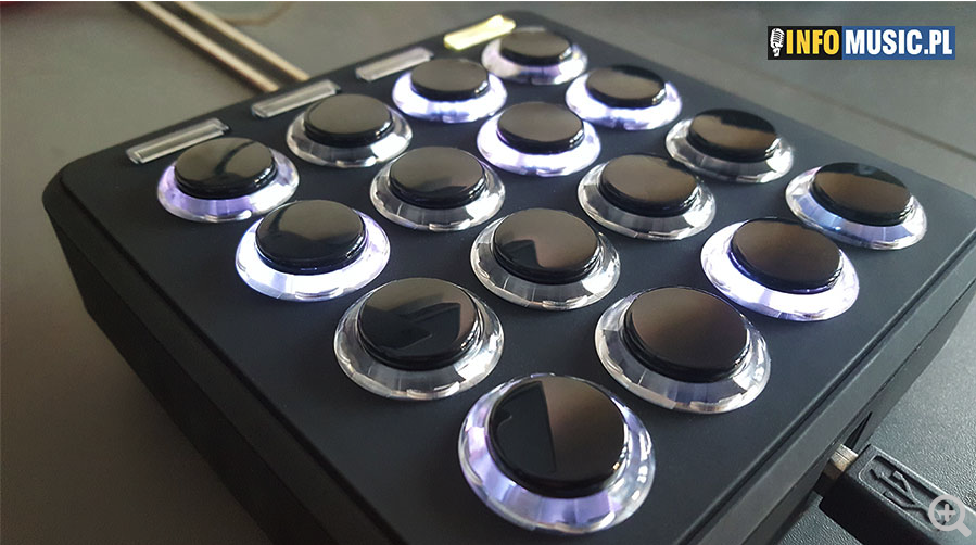TEST: DJ TechTools Midi Fighter 3D w InfoMusic
