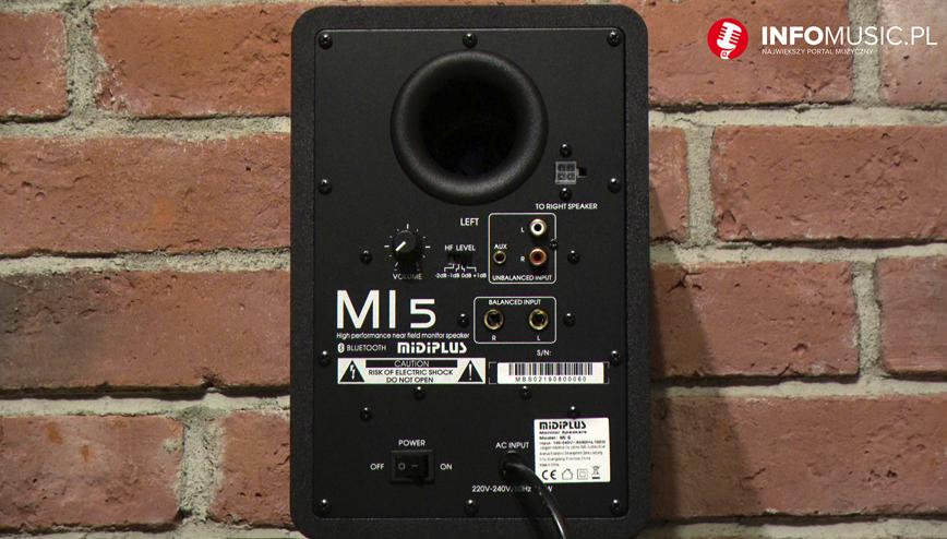Test: Midiplus MI 5 w InfoMusic