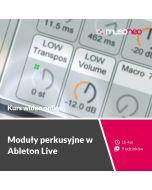 Musoneo - Moduły perkusyjne w Ableton Live - Kurs video PL (wersja elektroniczna)