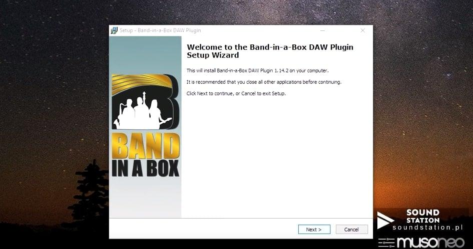 Poradnik: BAND IN A BOX- instalacja programu (cz.2)